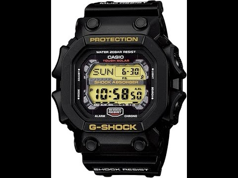 Casio's gx56bb-1 is from the family of g shock. Simple matte black finish allows the form of the aw591, dw6900, gx56 and g100 models to stand out with.