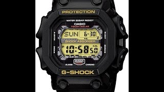 Настройка часов Casio G-shock GX-56-1B [3221]