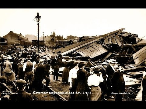 Witham, England Deadly Train Wreck 1905