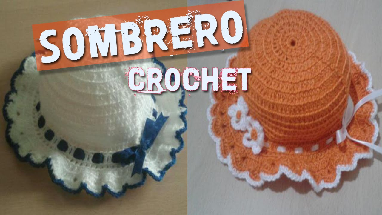 Sombreros Tejidos a Crochet - YouTube