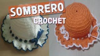 Sombreros Tejidos a Crochet