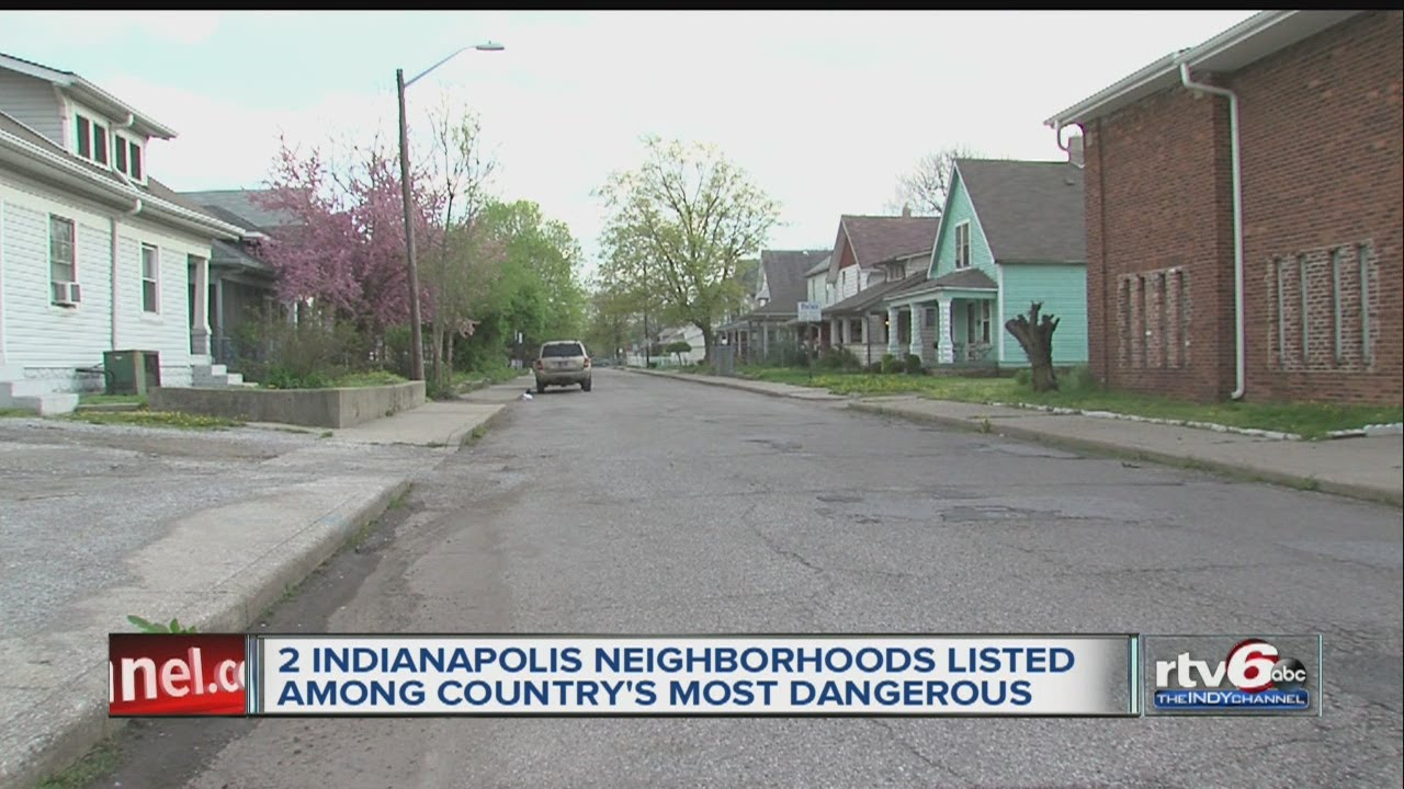 Report 2 Indy Areas Most Dangerous Youtube