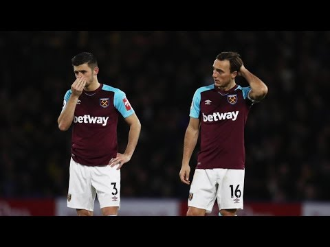Different Manager Same West Ham. Awful! Instant Reaction to Watford 2 West Ham 0