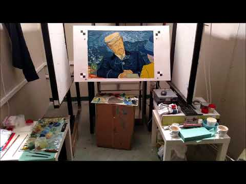 Kat Knutsen Interview | Working on the Loving Vincent film