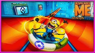 Funny Minion Runner Game Episode 1 - Free Games for Kids/Children (Minion Rush: Despicable Me)