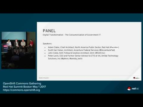 Government and education breakout 2: Digital transformation: The consumerization of government IT