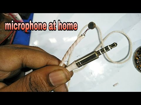 How To Make Spy Mic At Home Very Easy Way
