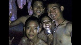 Missing 12 boys and their soccer team coach are found ALIVE after being lost in a flooded