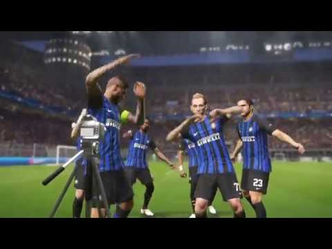 PES 2018- UEFA CHAMPİONS LEAGUE MATCH INTER VS COPENHAGEN FC