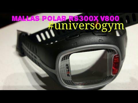 Mallas Polar Rs300 X Polar V800 Universogym - YouTube