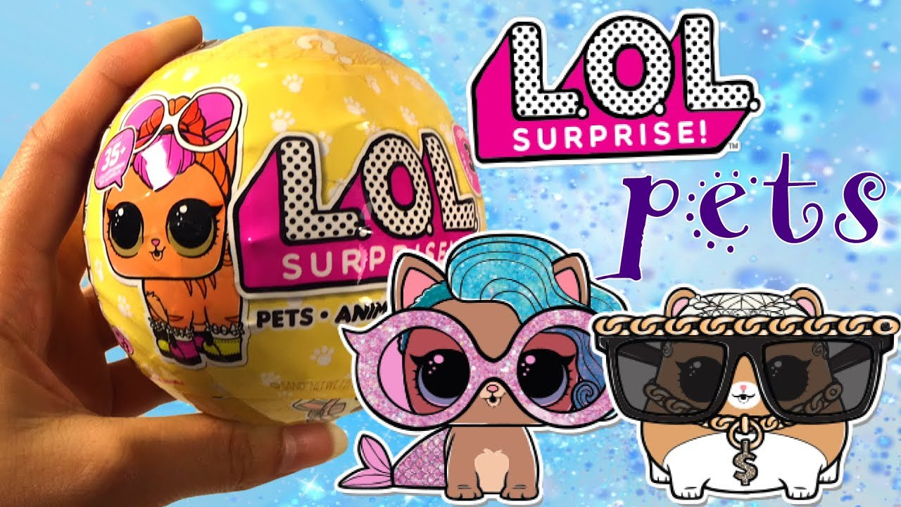 Lol Surprise Bal Pets Serie 3 Youtube