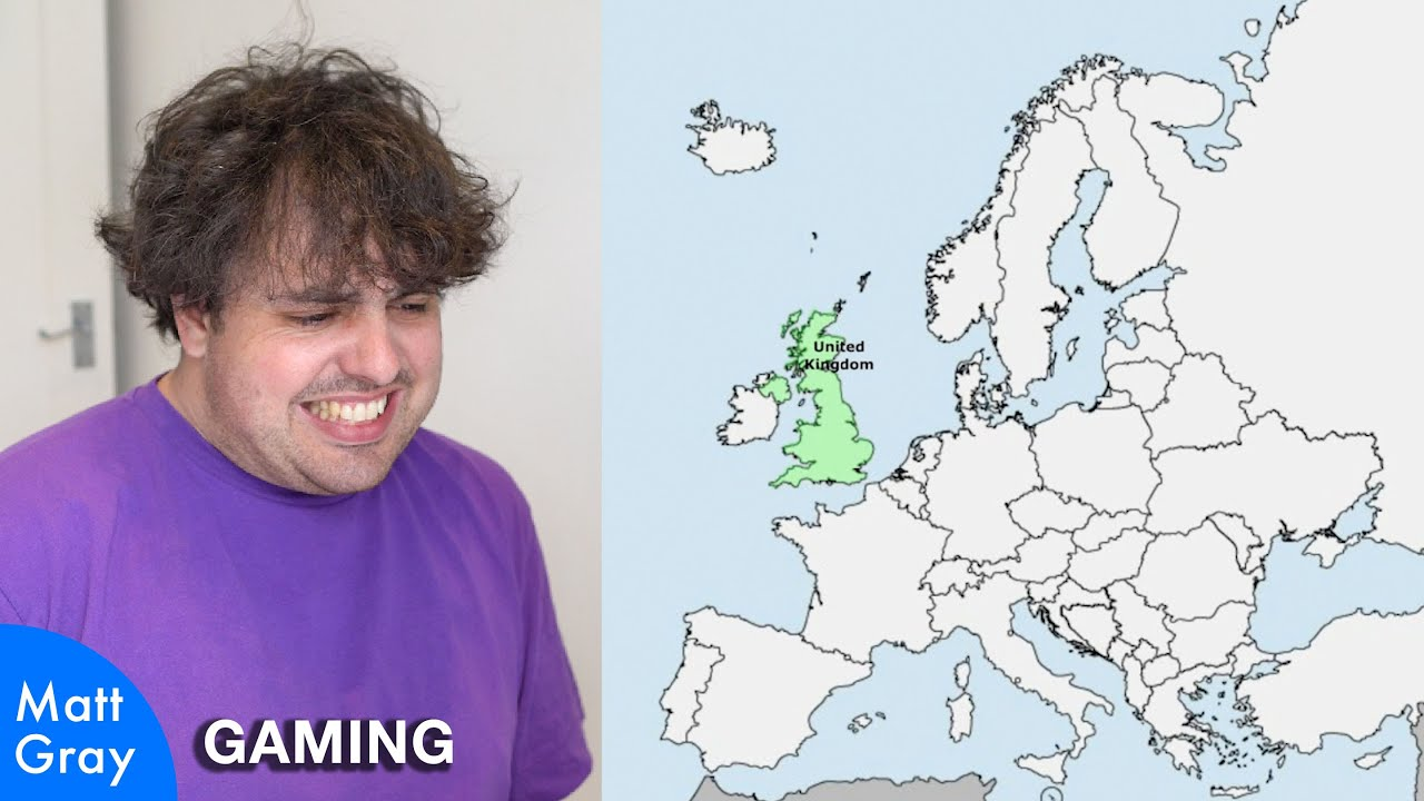 Youtube Thumbnail Image: 🇪🇺🇬🇧 Can a Brit name every country in Europe?