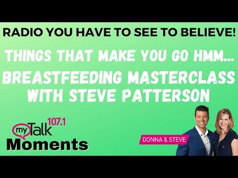 Breastfeeding Masterclass with Steve - myTalk Moments