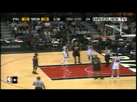 Jason Williams vs.Allen Iverson [03-16-04] Highlights