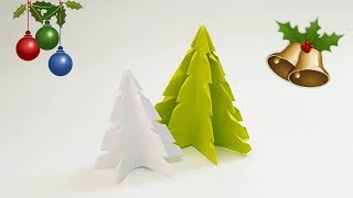3D Paper Christmas Tree | How to Make an Easy Paper Christmas Tree | DIY Project