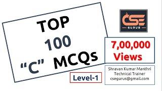 Top 100 MCQs in C