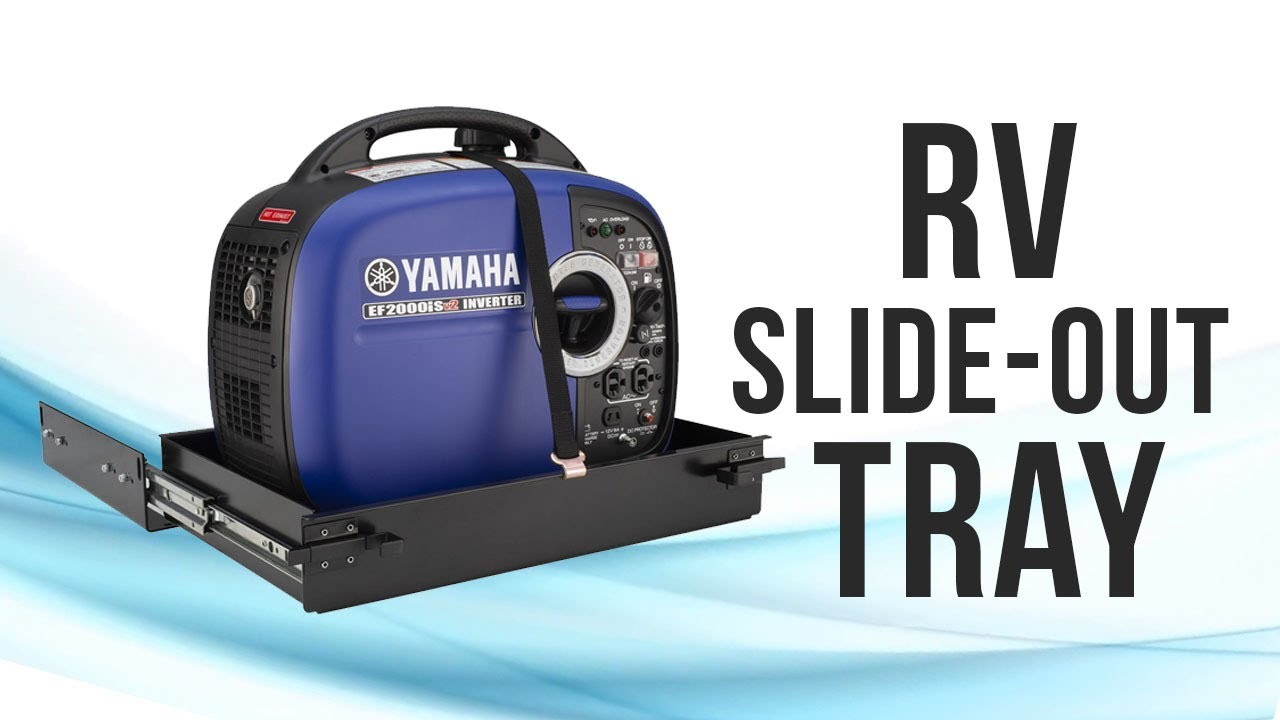 RV Generator Slide Out Tray - RecPro Products