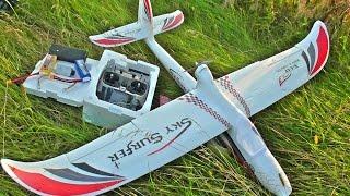 Sky Surfer X8 1400mm. Обзор и сборка модели.