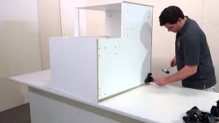 Bi Fold Corner Cabinet Assembly Made Easy
