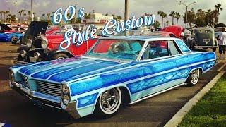 "1964 Pontiac Grand Prix 60's Custom Lowrider ""BlueMoon"""