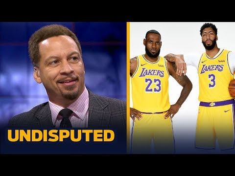 Chris Broussard makes a bold prediction for LeBron and new-look Lakers | NBA | UNDISPUTED
