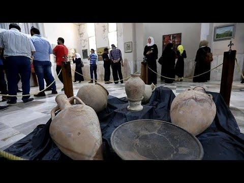 بالفيديو : رغم الحرب...متحف إدلب السوري يعيد فتح أبوابه  - نشر قبل 2 ساعة