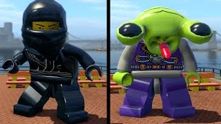 LEGO City Undercover (PS4) - All Characters: Special 1 (Super Minifigure Cheat)