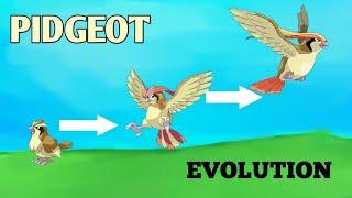 (POKEMON GO) Pidgeot evolution 2020 Pidgey evolve