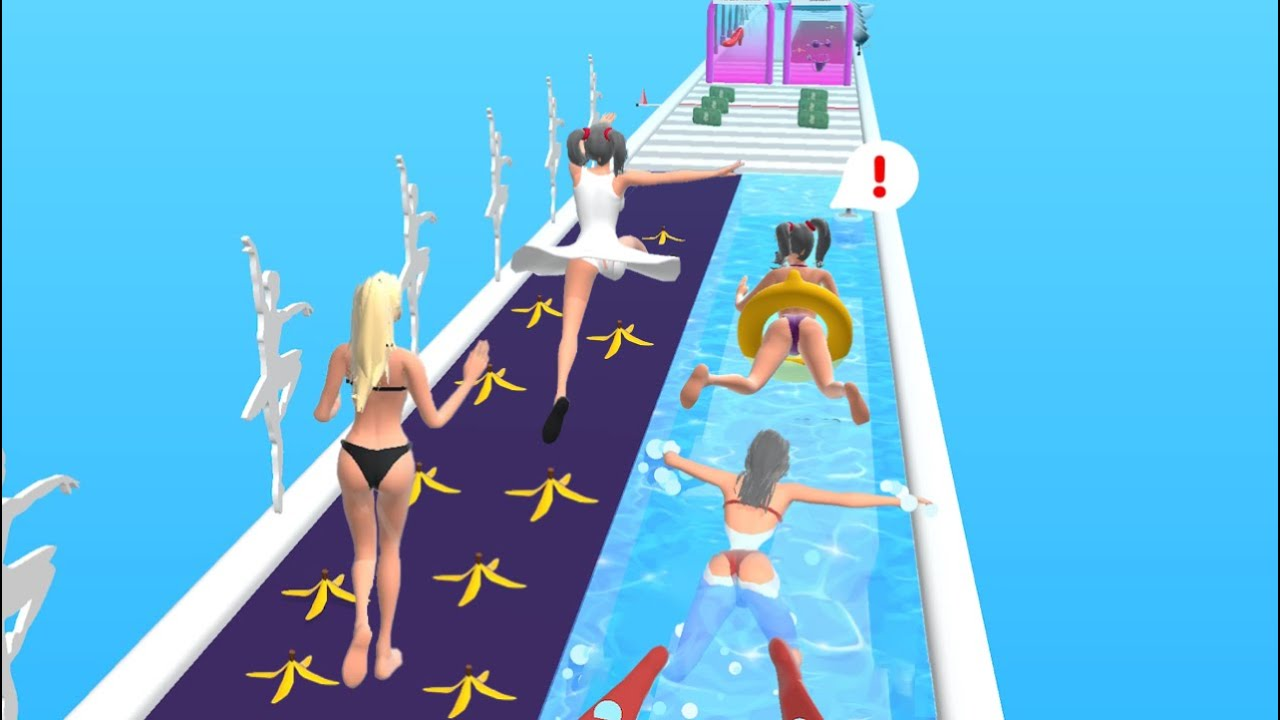 Beauty Race! 👸💃👙 NEW UPDATE!! All Levels Gameplay Android,ios BR1GP16