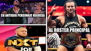 ¿Adam Cole a RAW o SMACKDOWN? / Samoa Joe regresa a WWE / La sombra regresará en AEW
