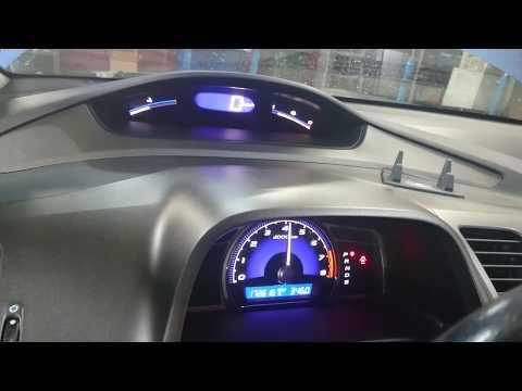 Обучение дросселя на Honda Civic 4D