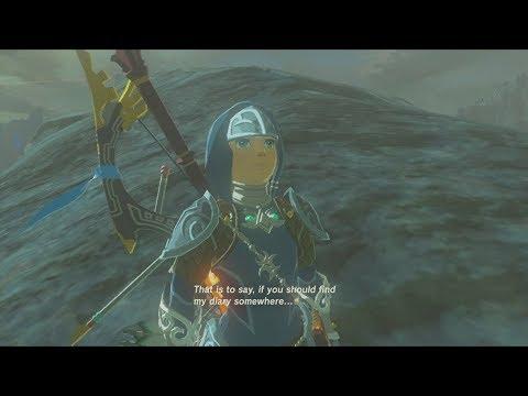 TLoZ: Breath of the Wild (Wii U) - DLC - Mipha's Extra Dialogue