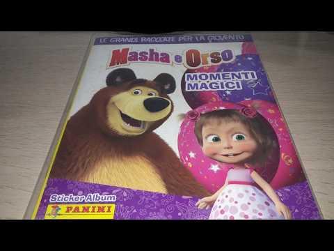 Panini 2015 Masha and the Bear - Magic Moments sticker album review