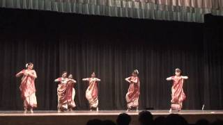 Bengali Folk Dance- Diwali 2009