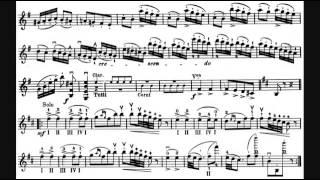 Canción difícil violin. La danza de los duendes