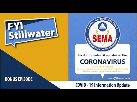 FYI Stillwater Podcast on COVID-19