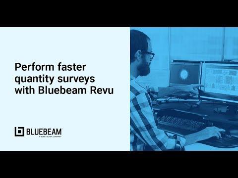 Using Bluebeam Revu for Quantity Surveys   Bluebeam Revu
