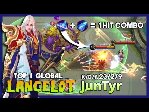 "Over Damage Lancelot By JunTyr Ranked 1 Global Lancelot ""You Can't Run From Me!"" ~ MLBB"