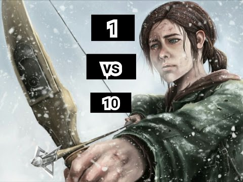 1 vs 10 The last of us remastered bow (Wharf)  
