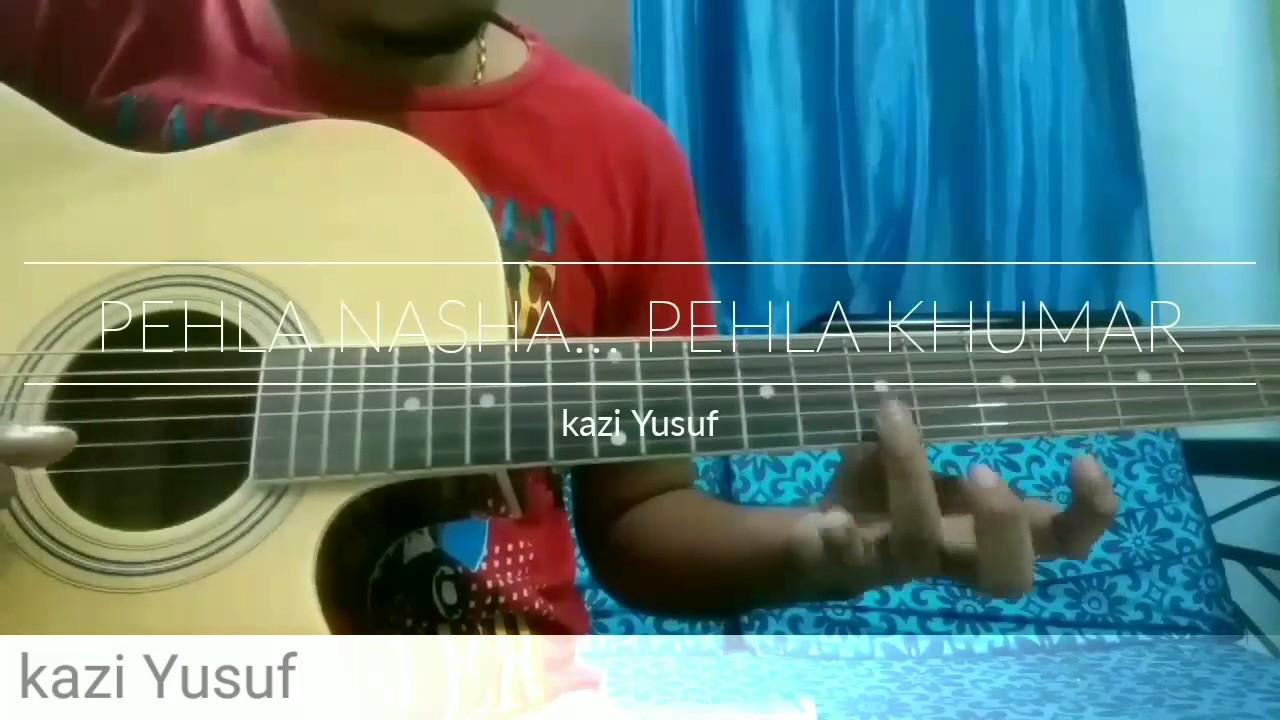 Pehla nasha guitar