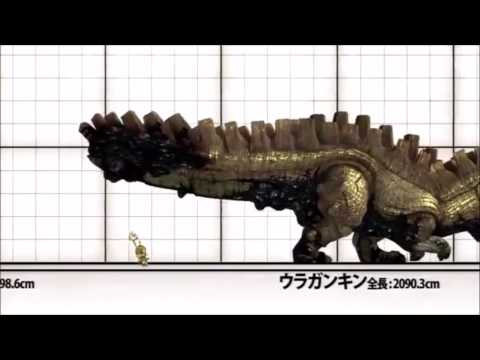 Monster Hunter Ultimate 3 & 4 Monster sizes