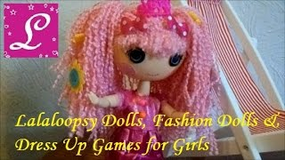 Открываем куклу Lalaloopsy Happy Carnival of Friends