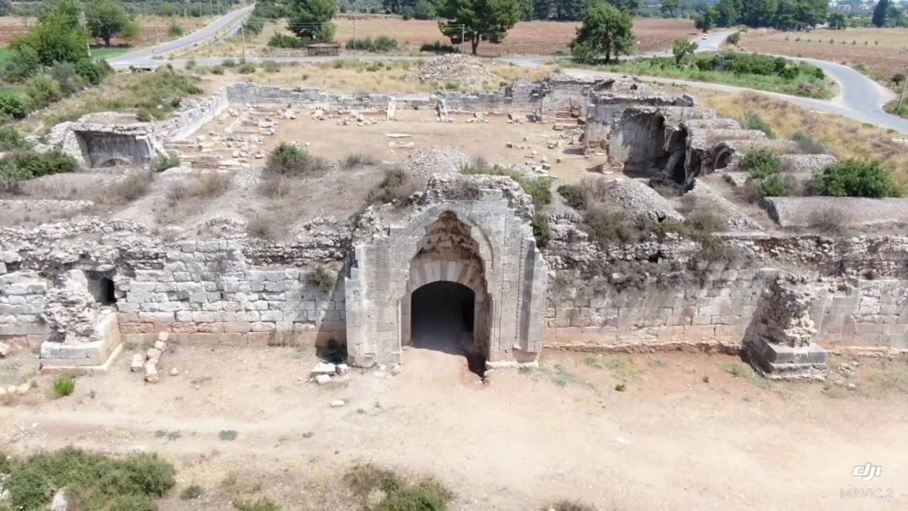 Erzin İsos (Epiphaneia) Antik Kenti Havadan Çekim I Dji Mavic 2 Zoom İle I  - YouTube