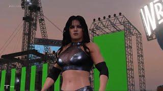 WWE 2K19- AJ Lee VS Chyna