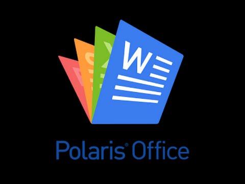 Como usar polaris office - YouTube