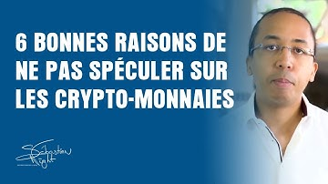 Bitcoin: Pourquoi c'est dangereux de spéculer sur les crypto-monnaies