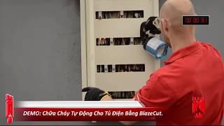 DEMO Chữa Cháy Tự Động Cho Tủ Điện Bằng BlazeCut  |  OlymSafety