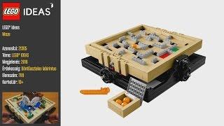LEGO 21305 - LEGO Ideas Maze - Videó bemutató
