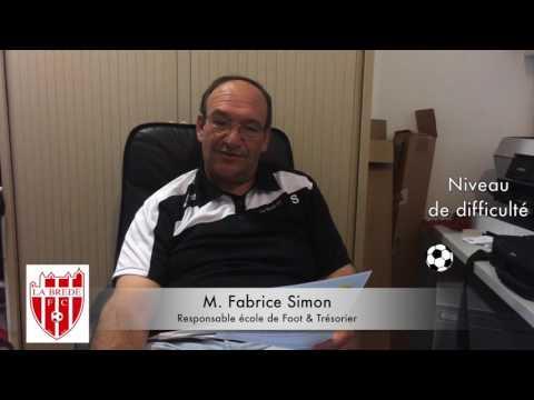 Dictée Fabrice Simon - Arbitrage