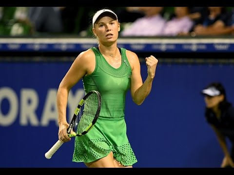 2016 Toray Pan Pacific Semifinals | Caroline Wozniacki vs Agnieszka Radwanska | WTA Highlights